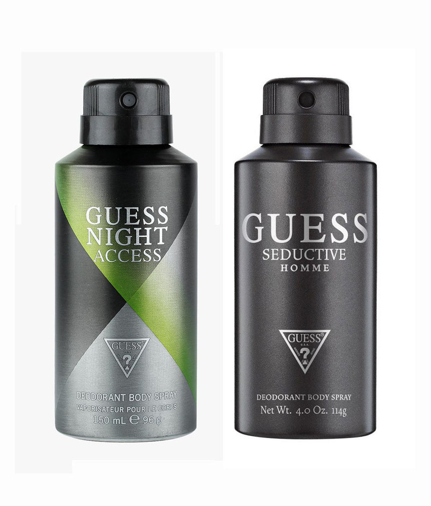 Guess Nightaccess + Seductivehomme Deo Combo Set - Pack of 2
