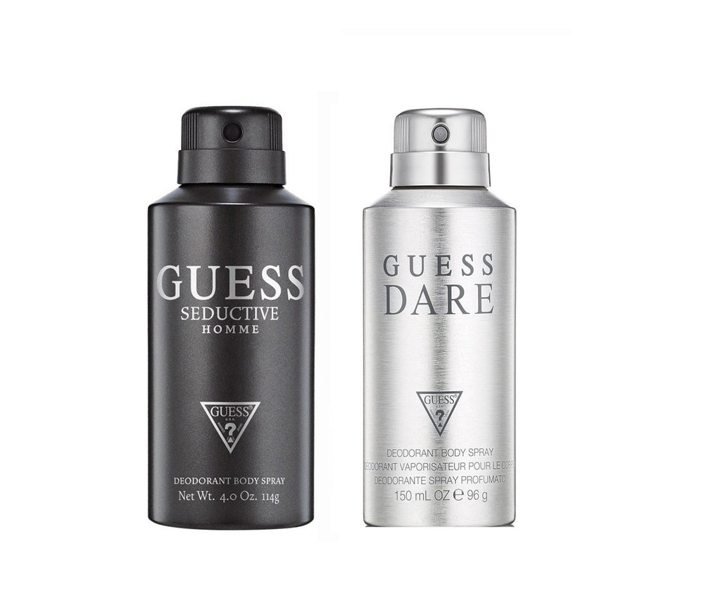 Guess Seductivehomme + Darehomme Deo Combo Set - Pack of 2