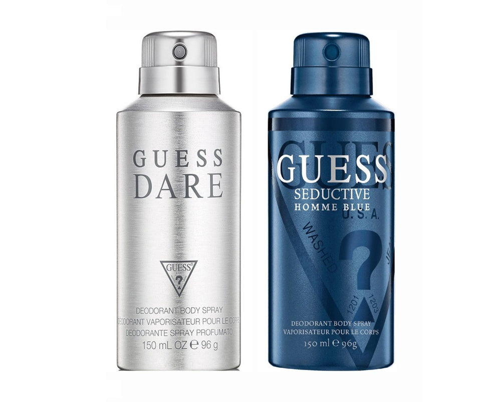 Guess Darehomme + Seductivehommeblue Deo Combo Set - Pack of 2
