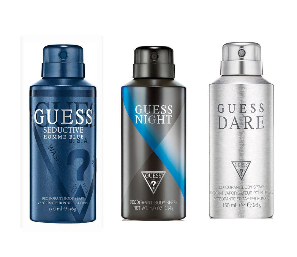 Guess Darehomme + Seductivehommeblue + Night Deo Combo Set - Pack of 3