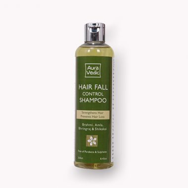 Auravedic Hair Fall Control Shampoo  - Paraben & SLS  Free Hair care