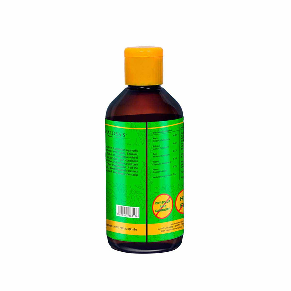 Dr. Vaidya's Herbaal Hair Cleanser - Ayurvedic Anti-Hairfall and Anti-Greying Shampoo