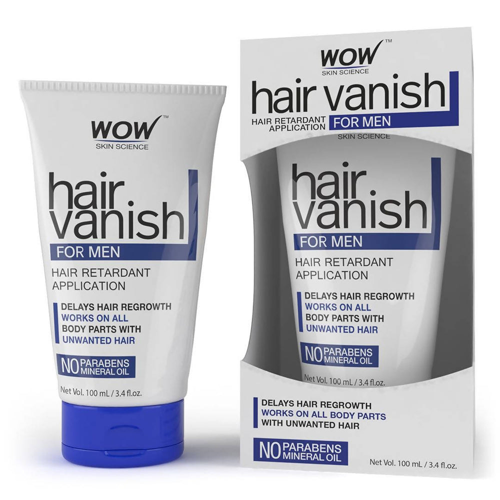 WOW Skin Science Hair Vanish for Men - 100 ml