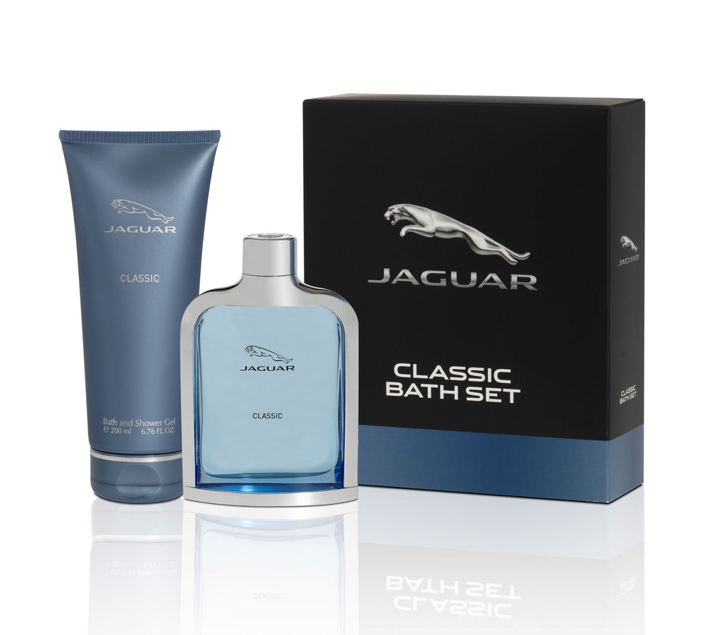 Jaguar Classic Gift Set (Eau de Toilette 100ml + Shower Gel 200ml), 30% Off