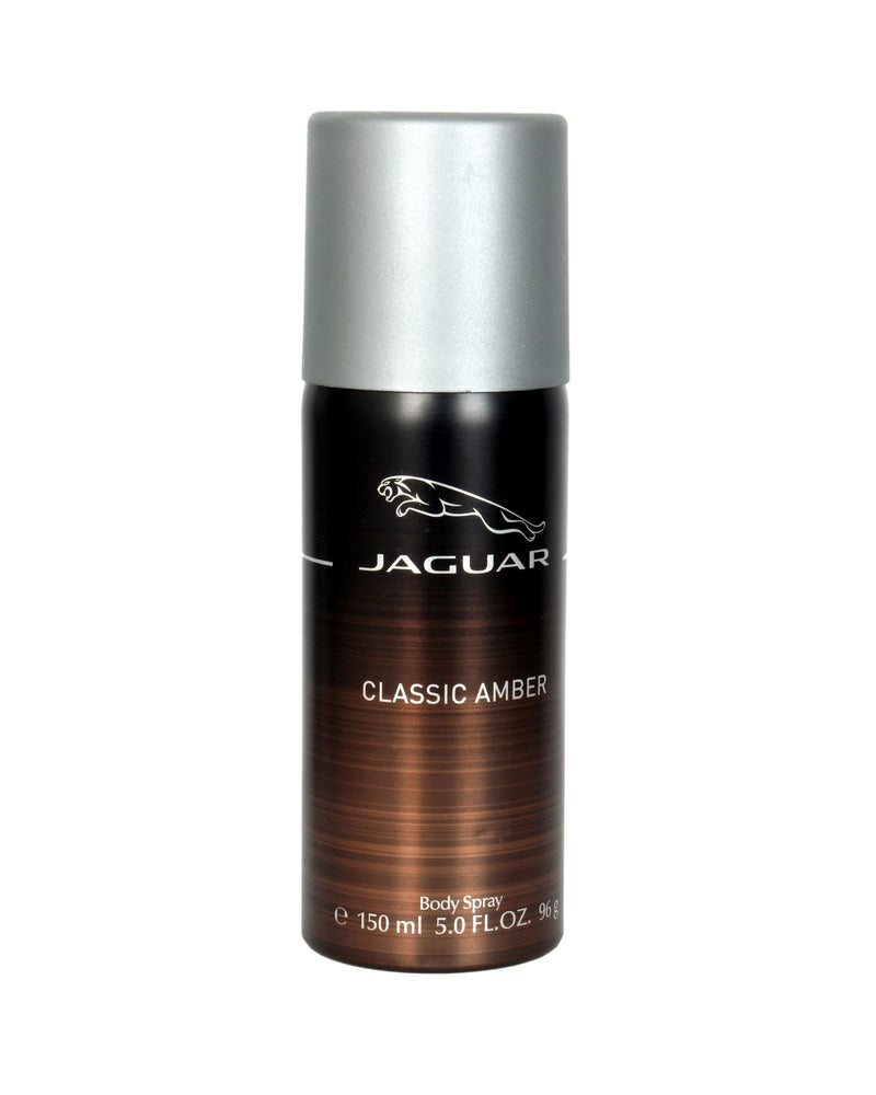 Jaguar Classic Amber Deodorant Spray 150ml, 5% Off