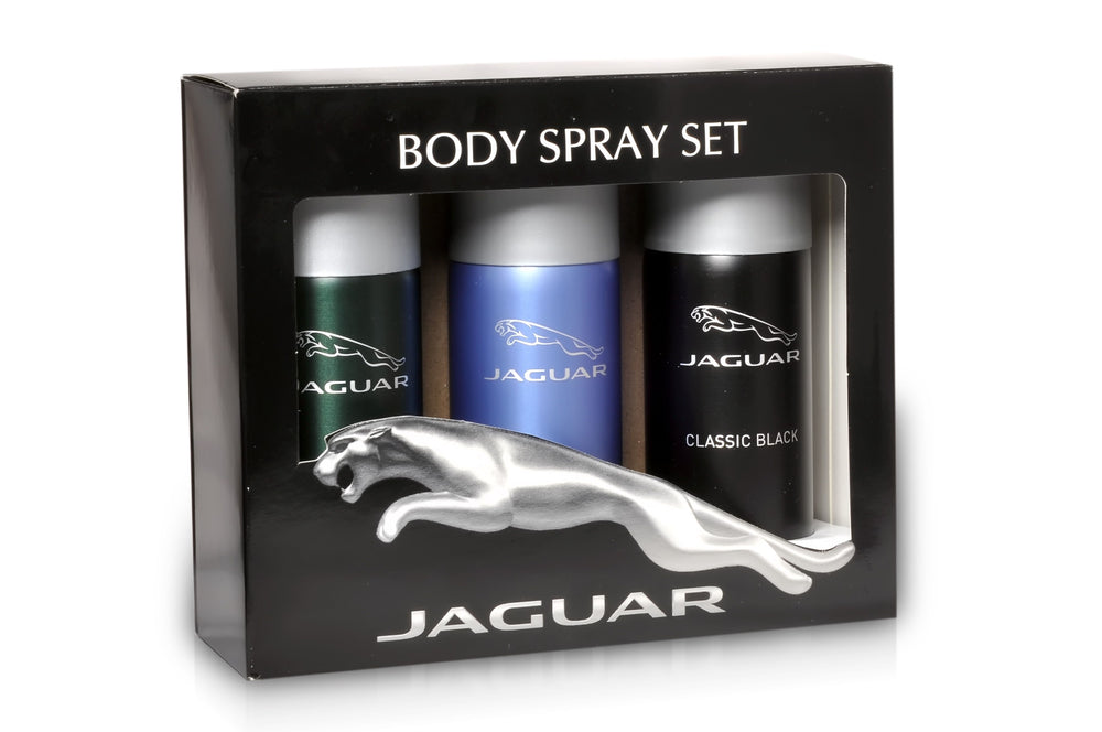 Jaguar Classic Black + Classic + For Men Deo Combo Set - Pack of 3