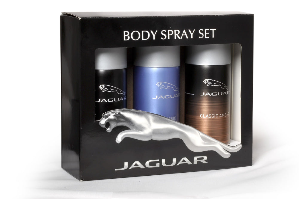 Jaguar Classic Amber + Classic + Classic Black Deo Combo Set - Pack of 3