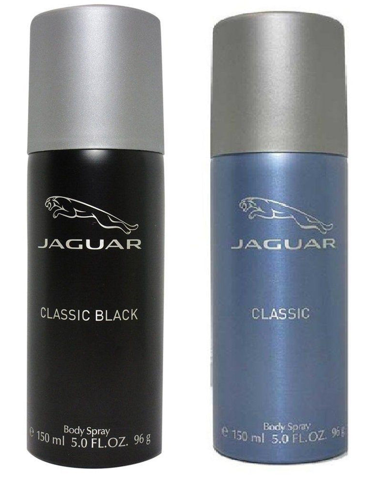 Jaguar Classic Black + Classic Deo Combo Set - Pack of 2