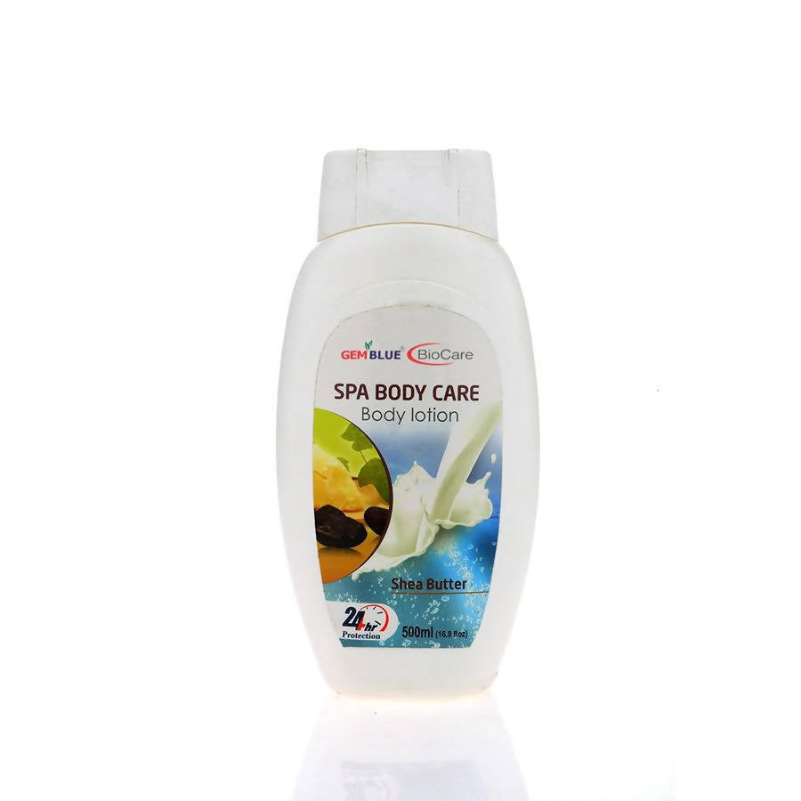 SPA Body Care Shea Butter Body Lotion-Gem Blue-BioCare