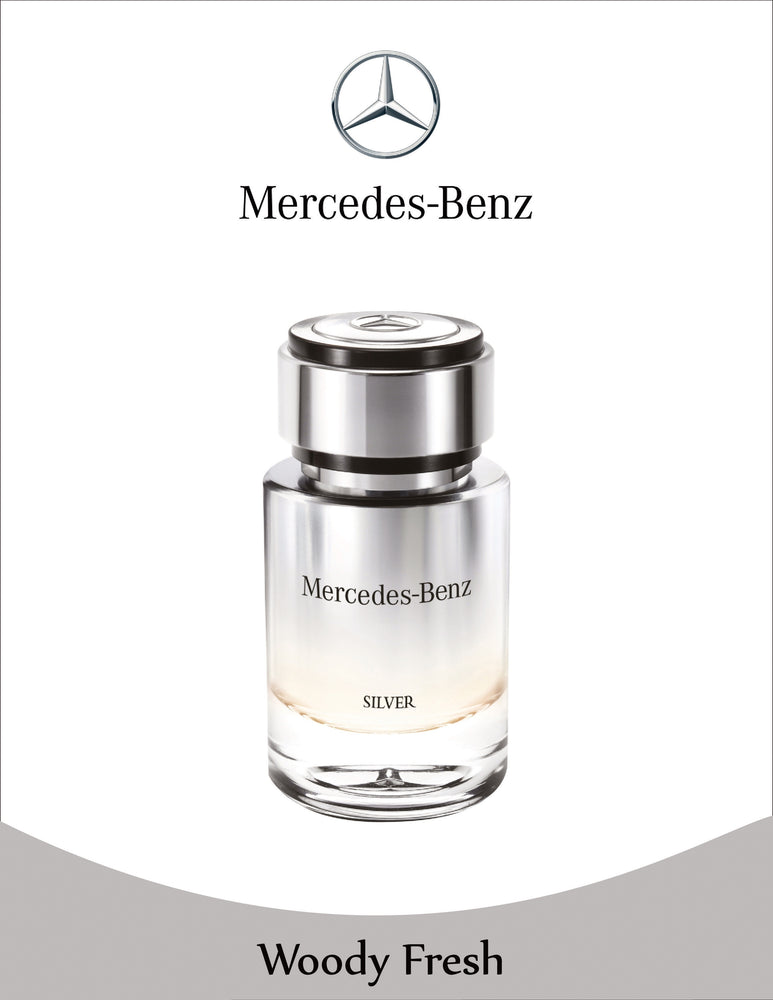 Mercedes-Benz BENZ SILVER FOR MEN Eau de Toilette 75ml, 15% Off