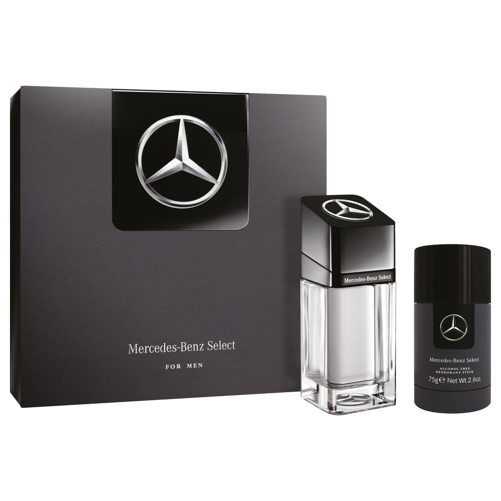 Mercedes-Benz Gift Set (Select Eau de Toilette 100ml + Deo Stick 75g), 10% Off