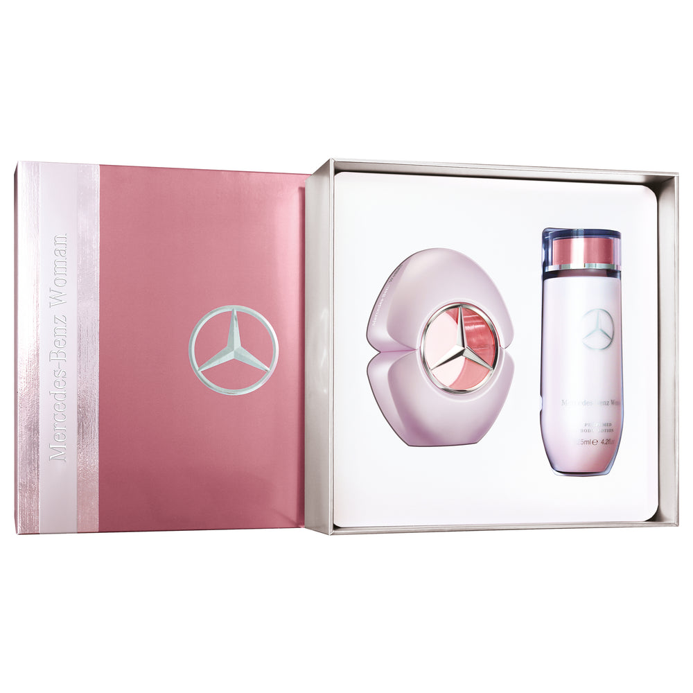 Mercedes-Benz BENZ WOMAN Gift Set(Eau de Toilette 60 ml + Body Lotion 125 ml)
