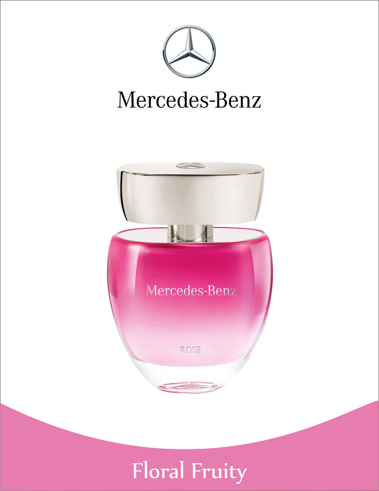 Mercedes-Benz For Women Eau de Toilette Rose Spray 60ml