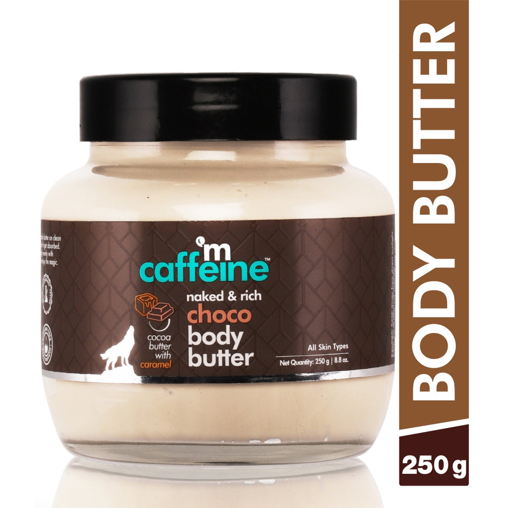mCaffeine Naked & Rich Choco Body Butter (250 g)