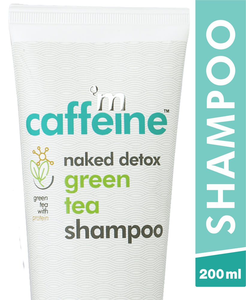 mCaffeine Naked Detox Green Tea Shampoo (200 ml)