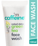mCaffeine Naked Detox Green Tea Face Wash (100 ml)