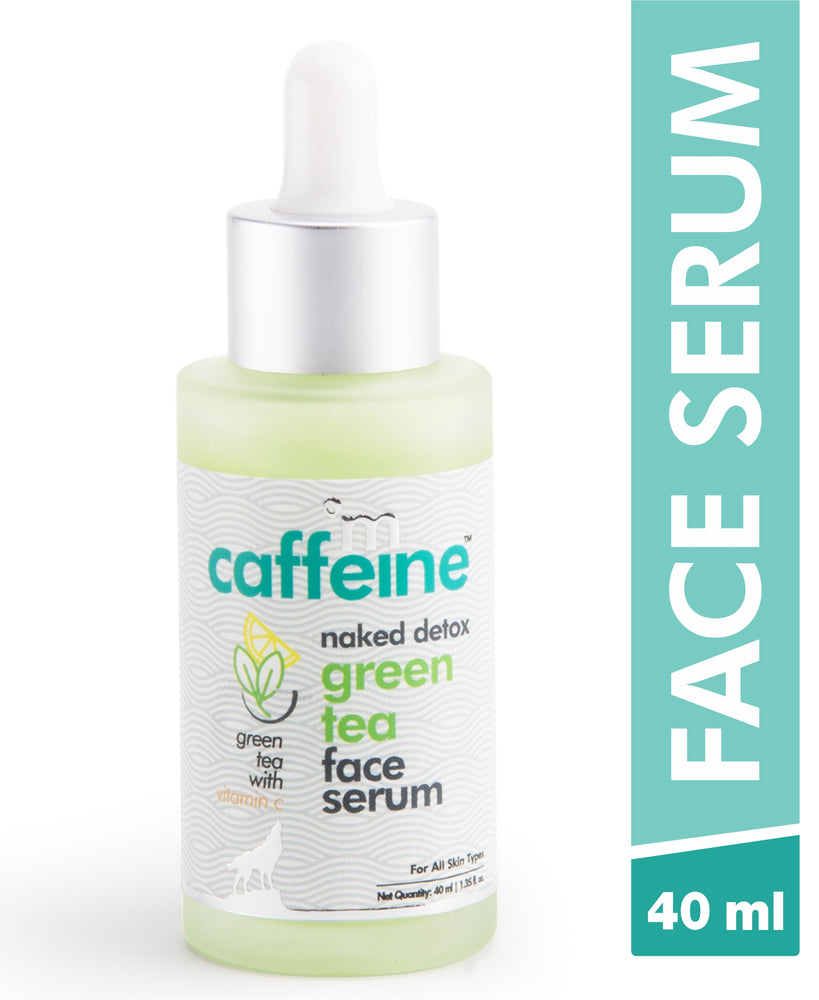 mCaffeine Naked Detox Green Tea Face Serum (40 ml)
