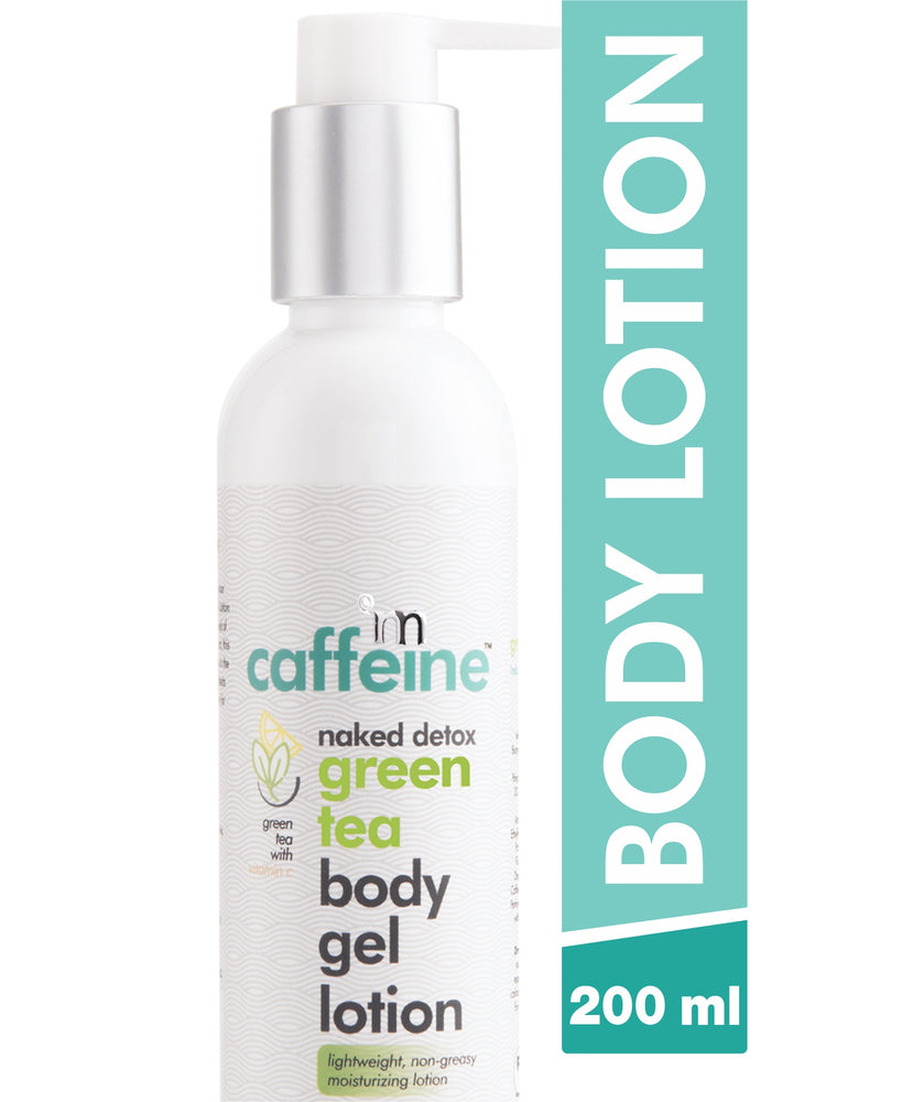 mCaffeine Naked Detox Green Tea Body Gel Lotion (200 ml)