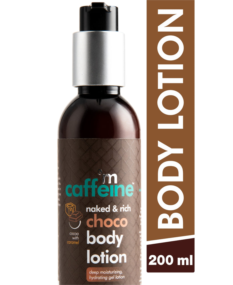 mCaffeine Naked & Rich Choco Body Lotion (200 ml)