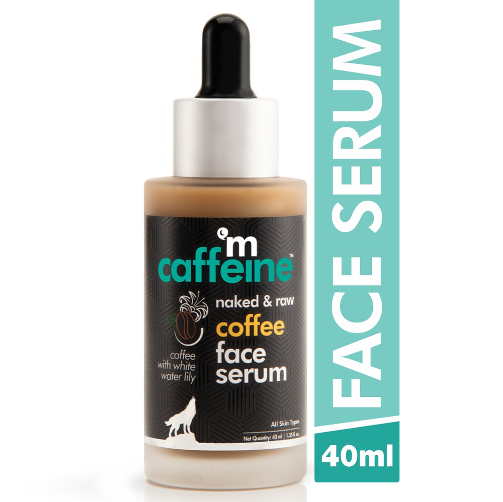 mCaffeine Naked & Raw Coffee Face Serum (40 ml)