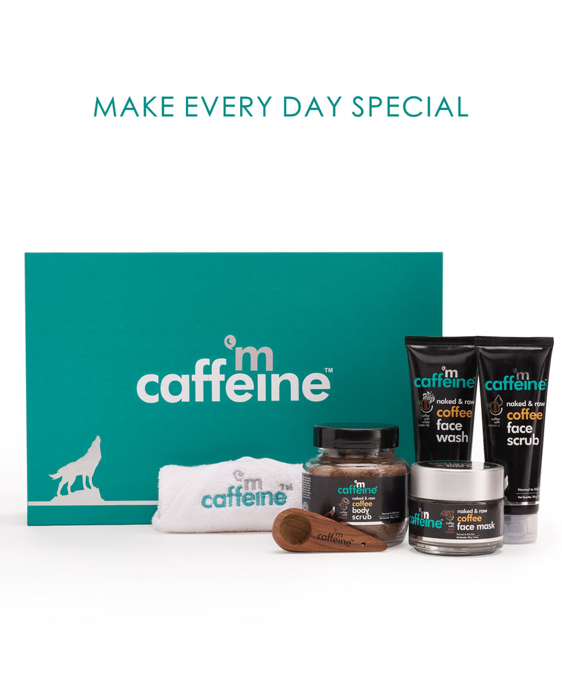 mCaffeine Coffee Mood Skin Care Gift Kit