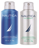 Nautica Blue + Classic Deo Combo Set - Pack of 2