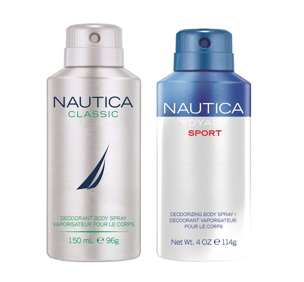 Nautica Voyagesport + Classic Deo Combo Set - Pack of 2