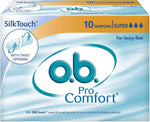 O.B. Tampon Super 10's (Pack of 2)