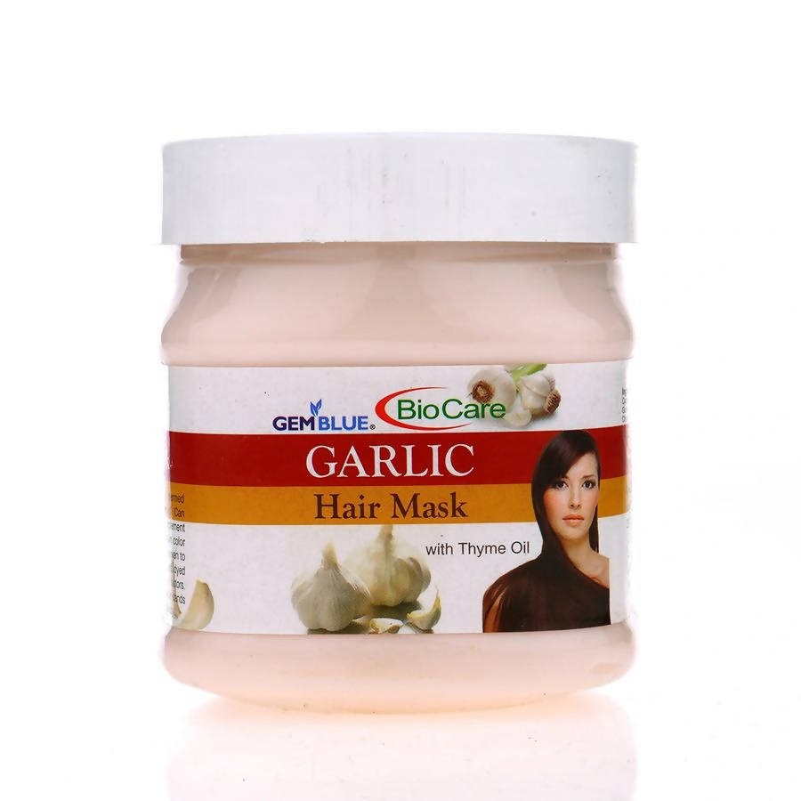 Garlic Hair Mask-Gem Blue-BioCare