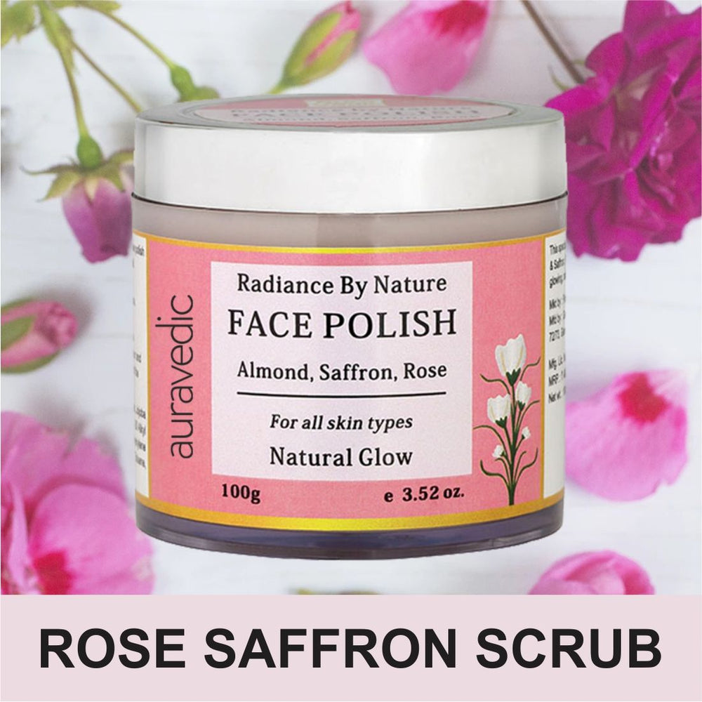 Radiance by Nature Face Polish Saffron Almond