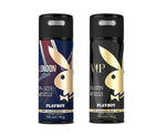 Playboy London + VIP Deo New Combo Set - Pack of 2 Mens