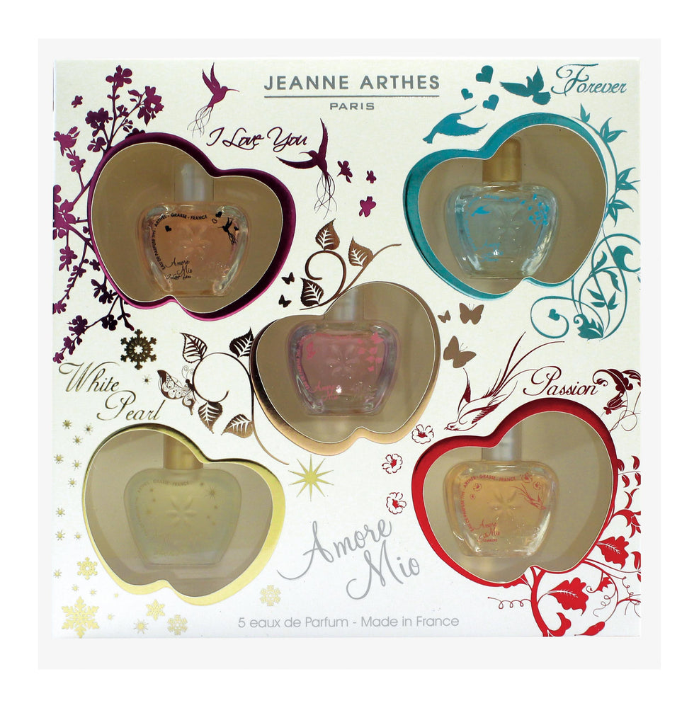 Jeanne Arthes Amore Mio Gift Set (Mini 7ml x O/Fore/I Lov/Passion/WP)