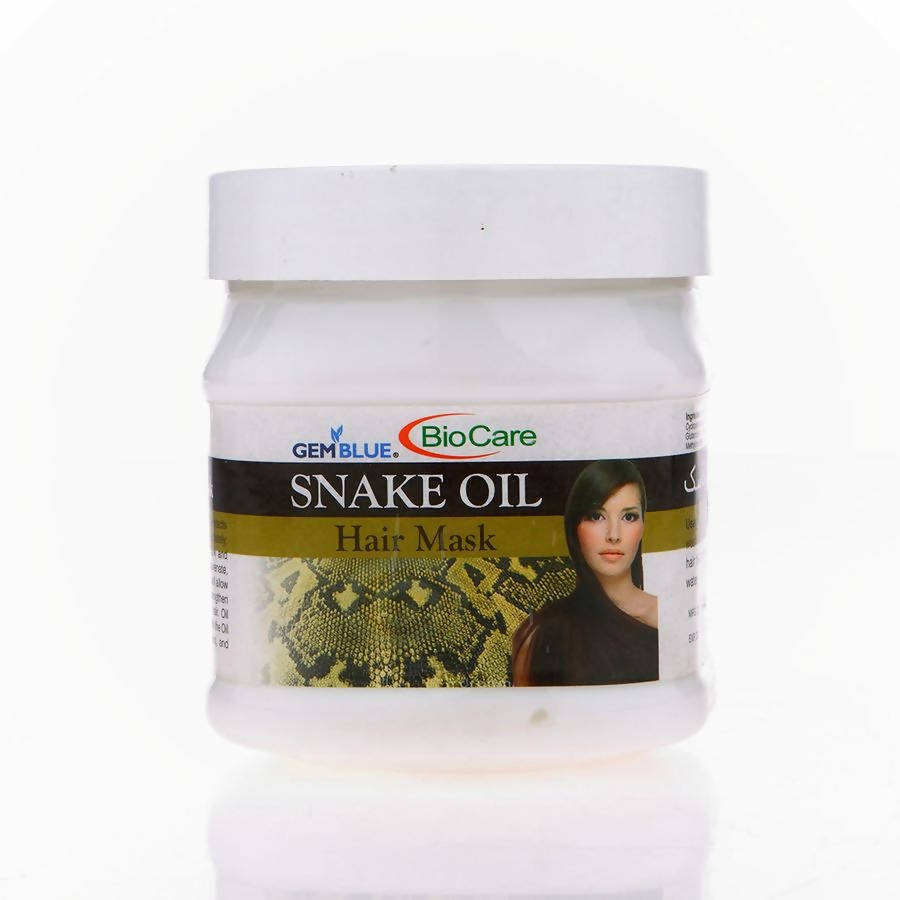 Snake Oil Hair Mask-Gem Blue-BioCare