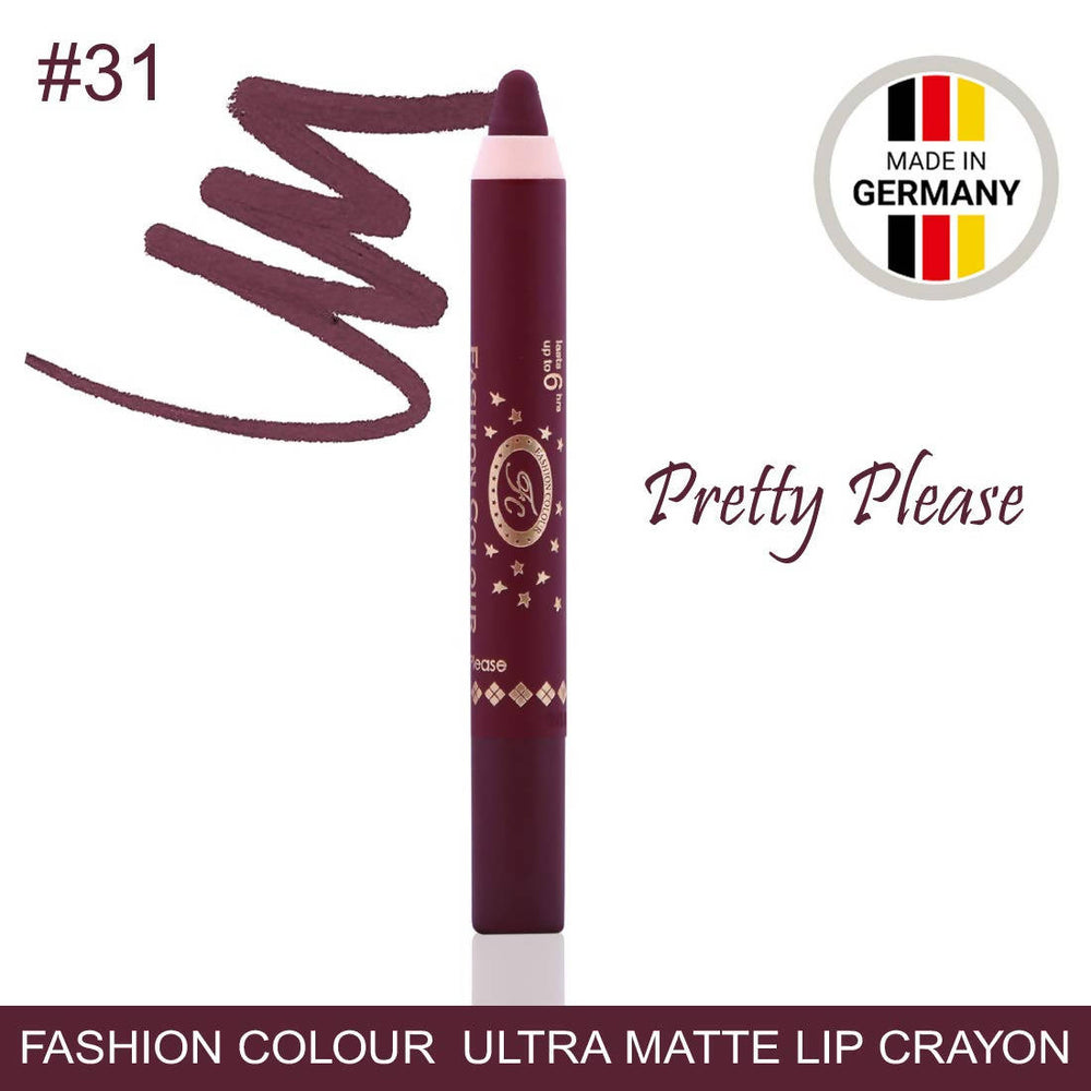 Ultra Matte Lip Crayon Pretty Please Lipstick