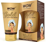 WOW Skin Science Gold Clay Face Mask - TUBE - 100 mL