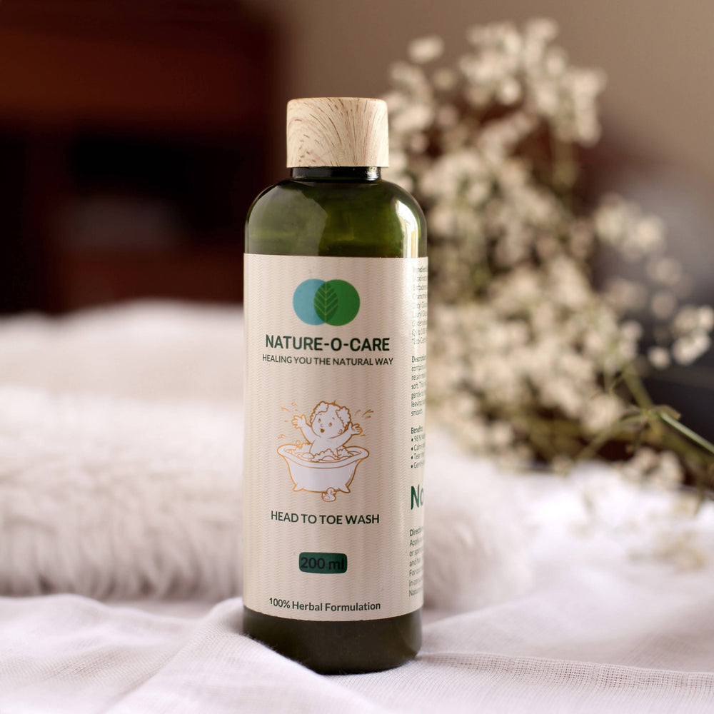 NATURE-O-CARE HEAD TO TOE WASH