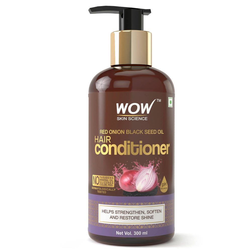 WOW Skin Science Onion Black Seed Oil Hair Conditioner (300 mL)