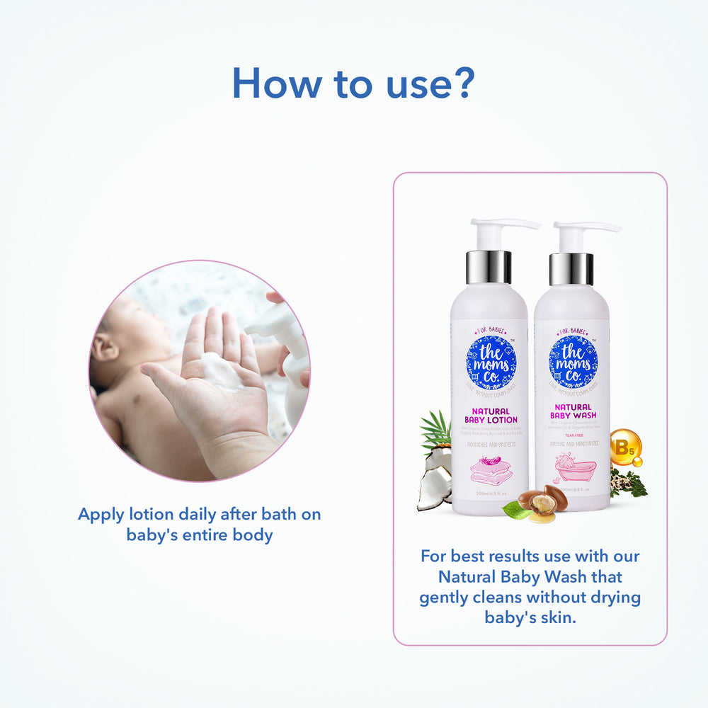 Baby wash+ lotion (50ml each)