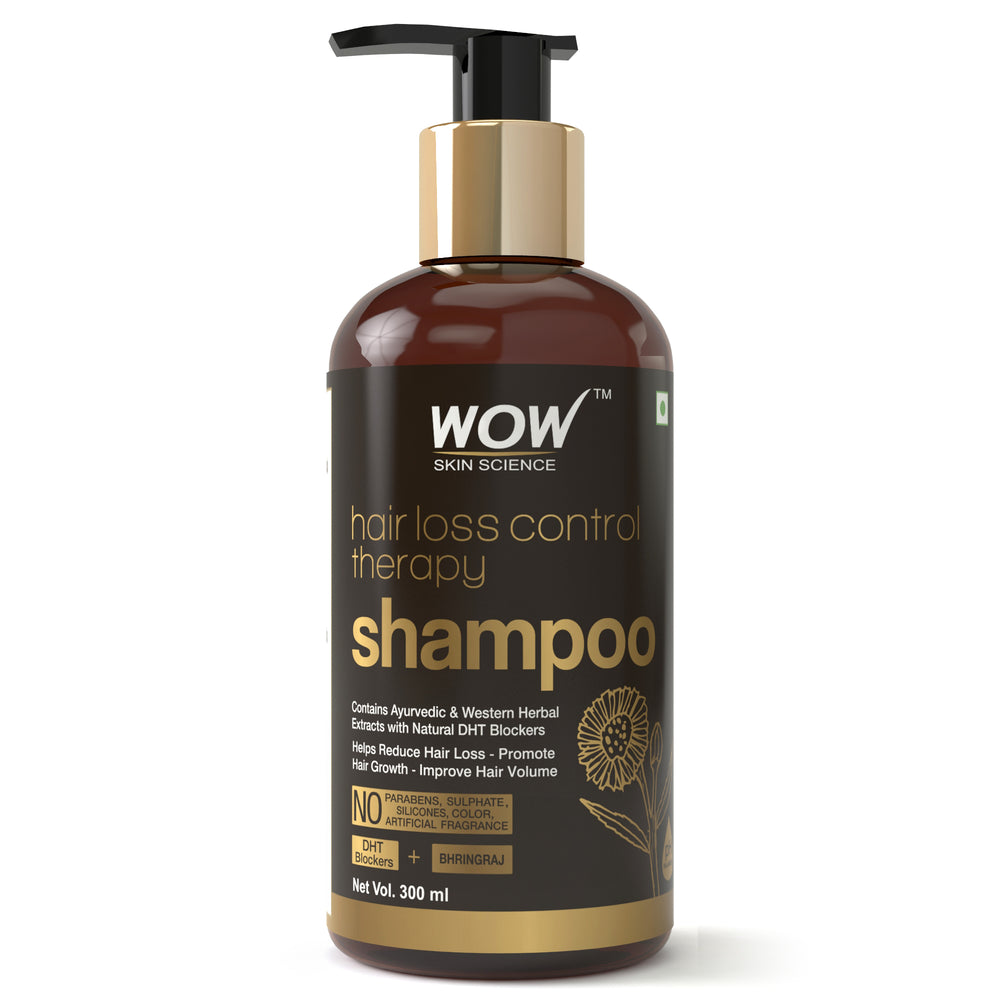 WOW Skin Science Hair Loss Control Therapy Shampoo - 300 mL