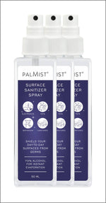 Palmist Surface Sanitizer Spray 50ml (Pack of 3) Spray