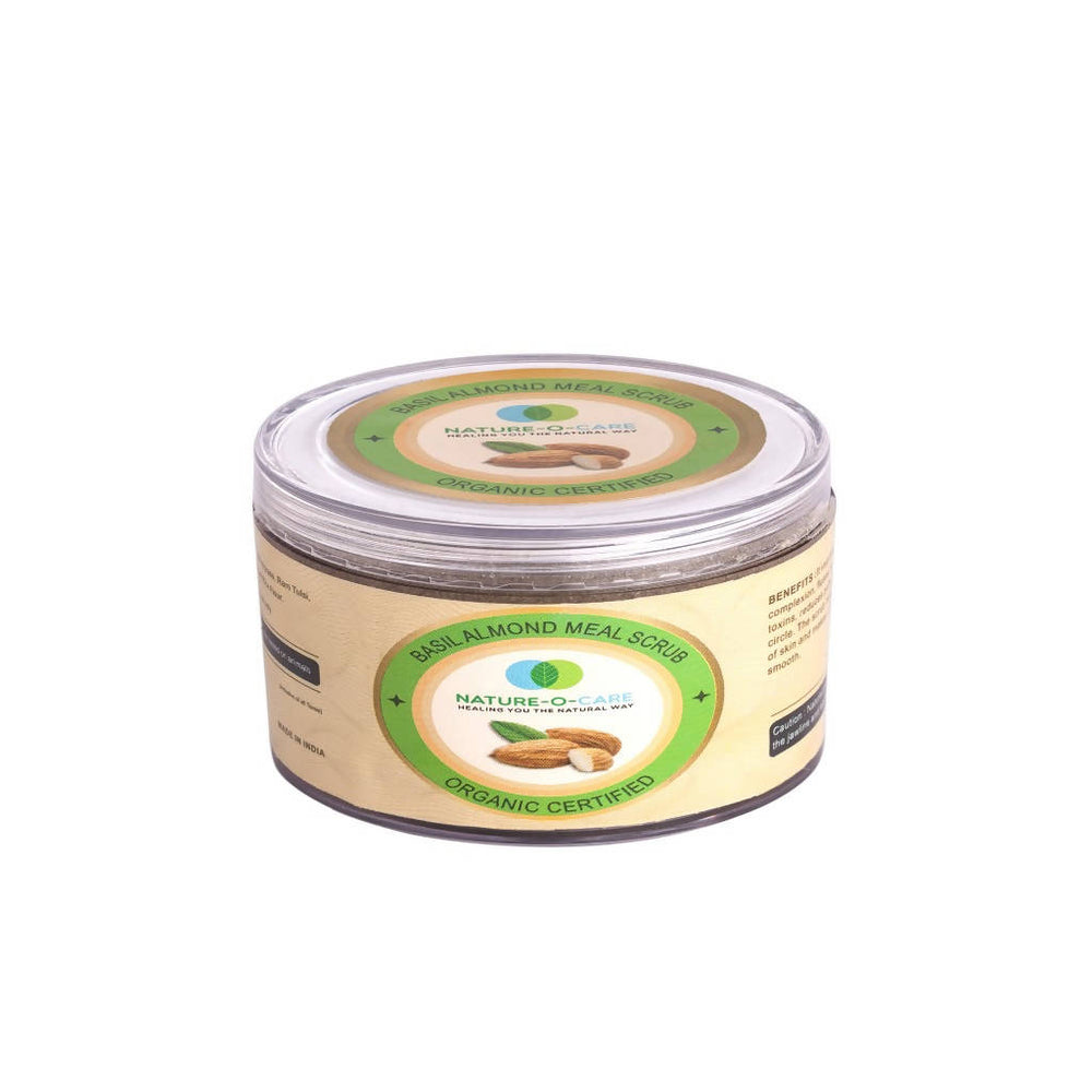 Nature-o-care Basil Almond Meal Scrub