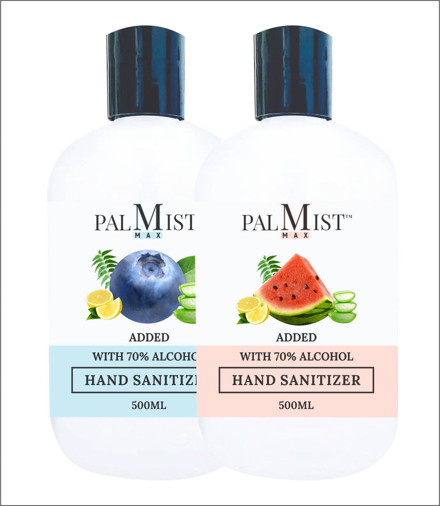 Palmist MAX Hand Sanitizer 500ml (Pack of 2) Gel