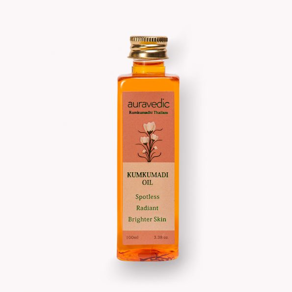 Kumkumadi Oil -Pure Saffron For Ultra Skin brightening & radiance