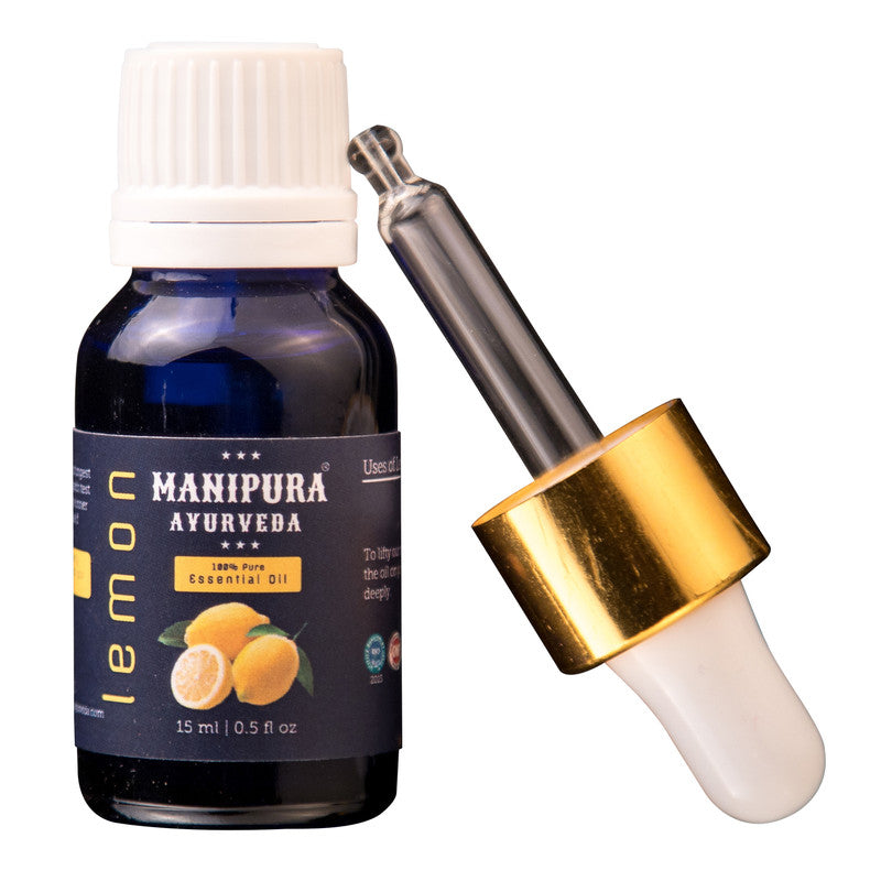 Manipura Ayurveda Lemon  Pure Essential Oil