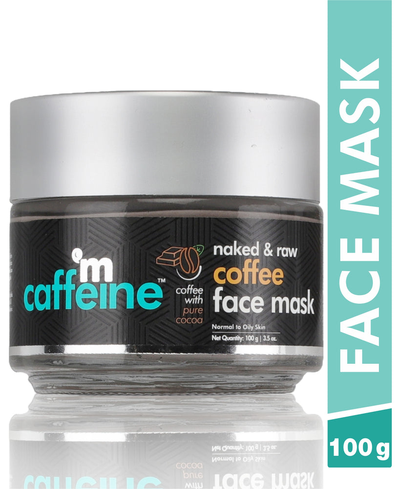 mCaffeine Naked & Raw Coffee Face Mask (100 g)