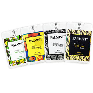 Palmist Pocket Perfume for men and unisex 18ml combo (Pack of 4)