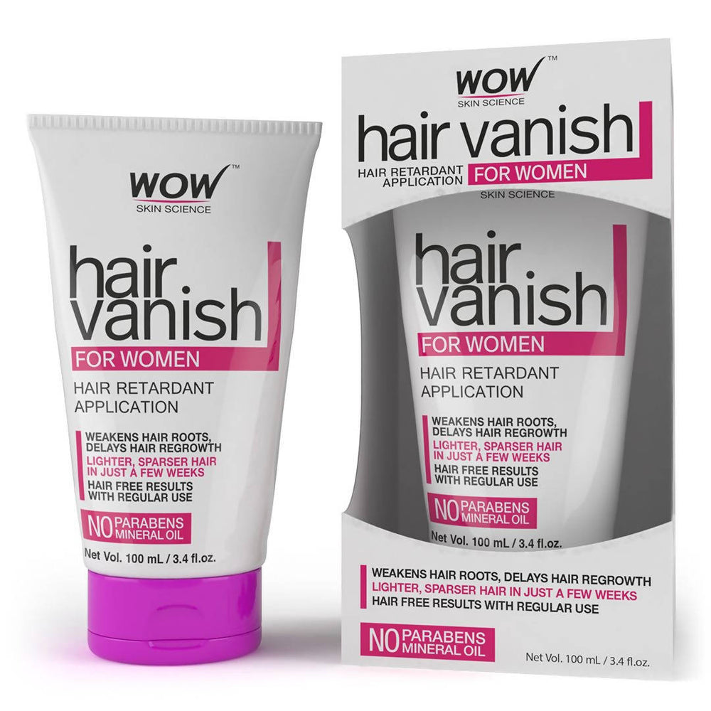 WOW Skin Science Hair Vanish for Women - 100 ml