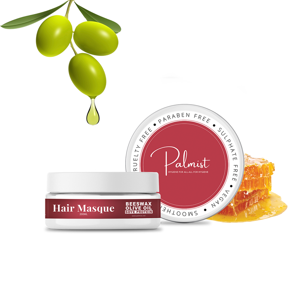 Palmist Hair Masque (SLS/Paraben free) 200ml, Deep Conditioning & Hydration, For Strong And Silky Hair