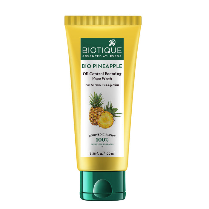 BIO PINEAPPLE OIL BALANCING FACE WASH 100ml(for oily & acne)