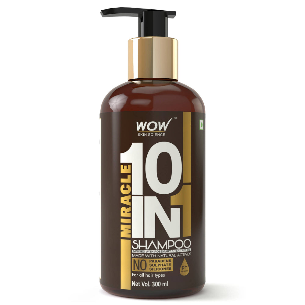 WOW Skin Science Miracle 10 in 1 Shampoo (300 mL)